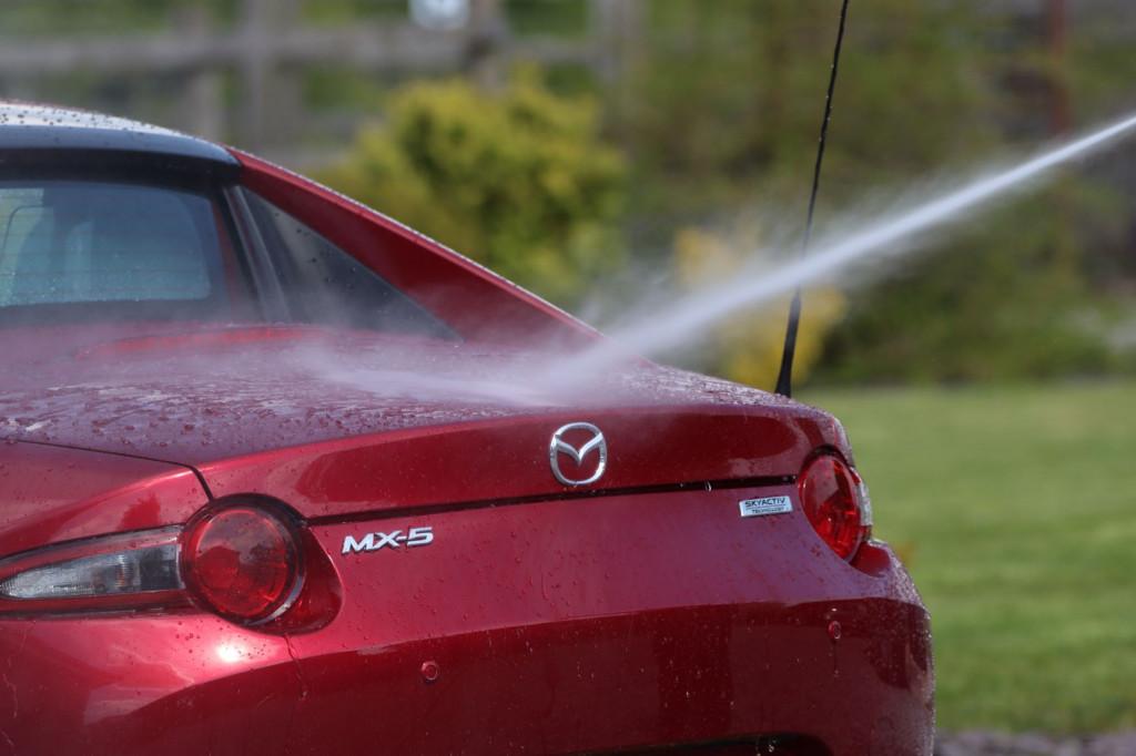 wash car rinse